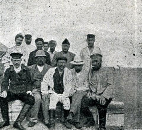 Et legeteam på De kirgisiske stepper i 1913