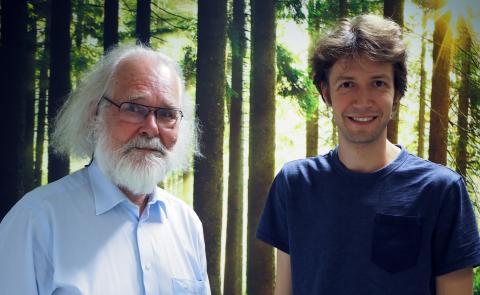 Nils Chr. Stenseth og Boris Schmid