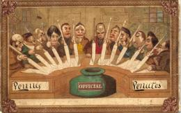 Postkort fra 1840